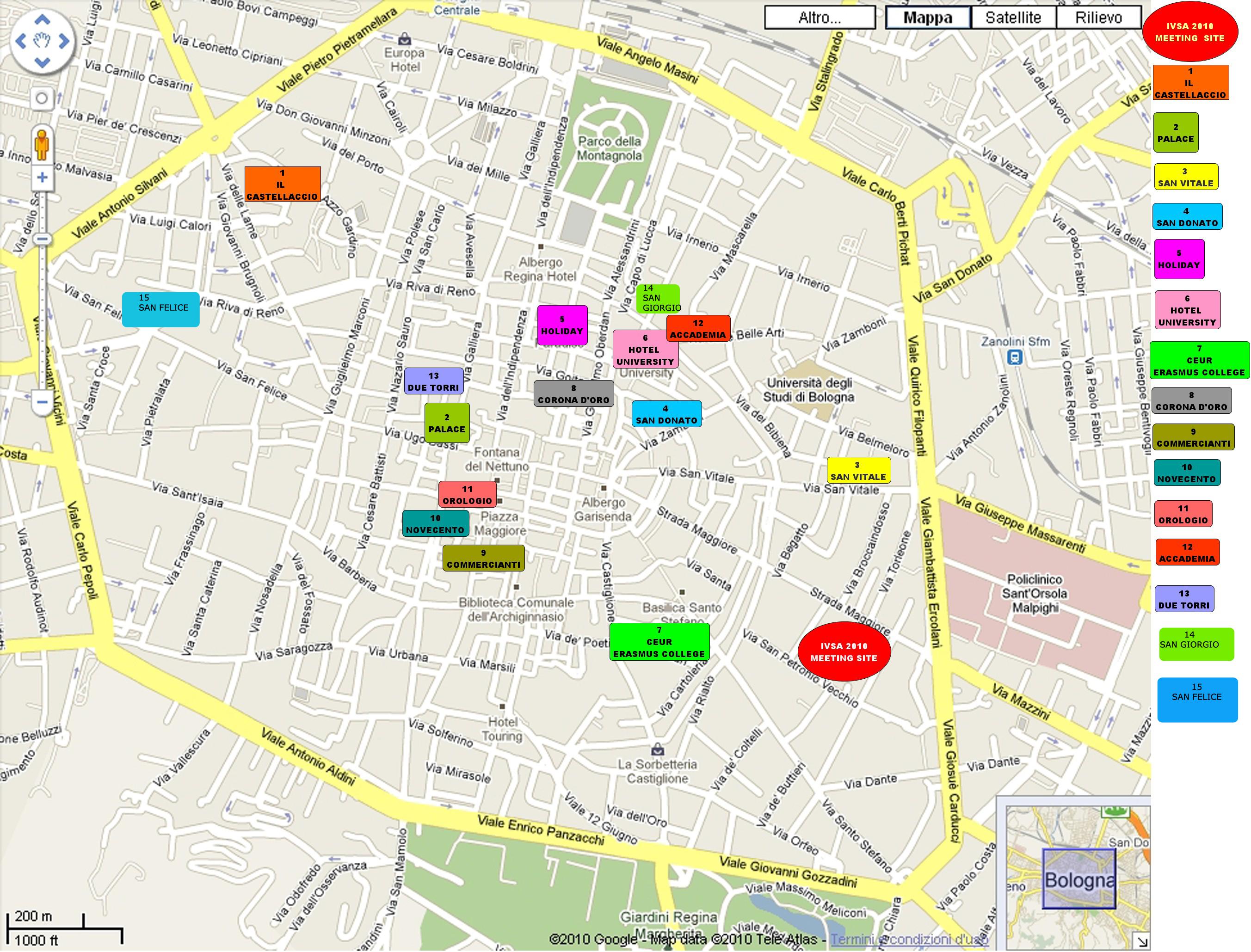 fintyre bologna map - photo#26