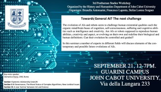 AI Seminar poster