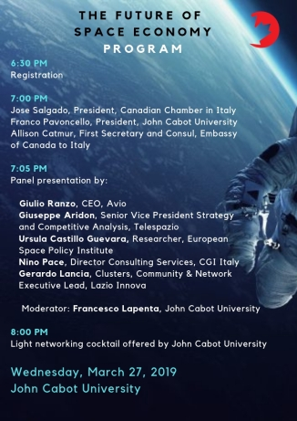 Program wordpress - Future of Space Economy - March 27-3